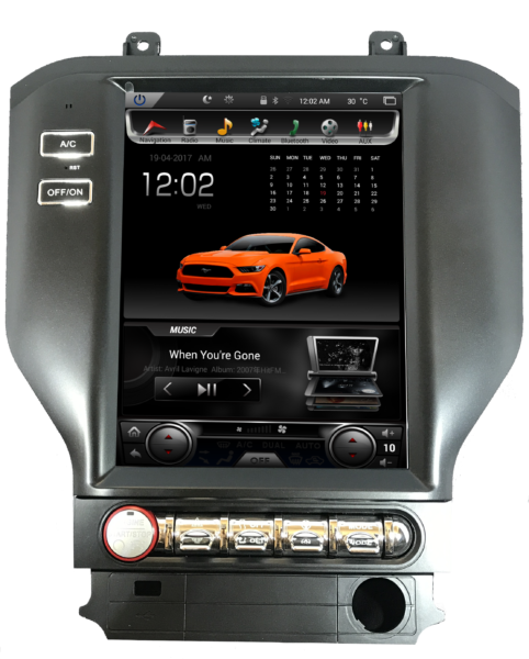 TS-FDMU10-4RR-8 GEN I T-Style Ford Mustang 10.4″ Radio