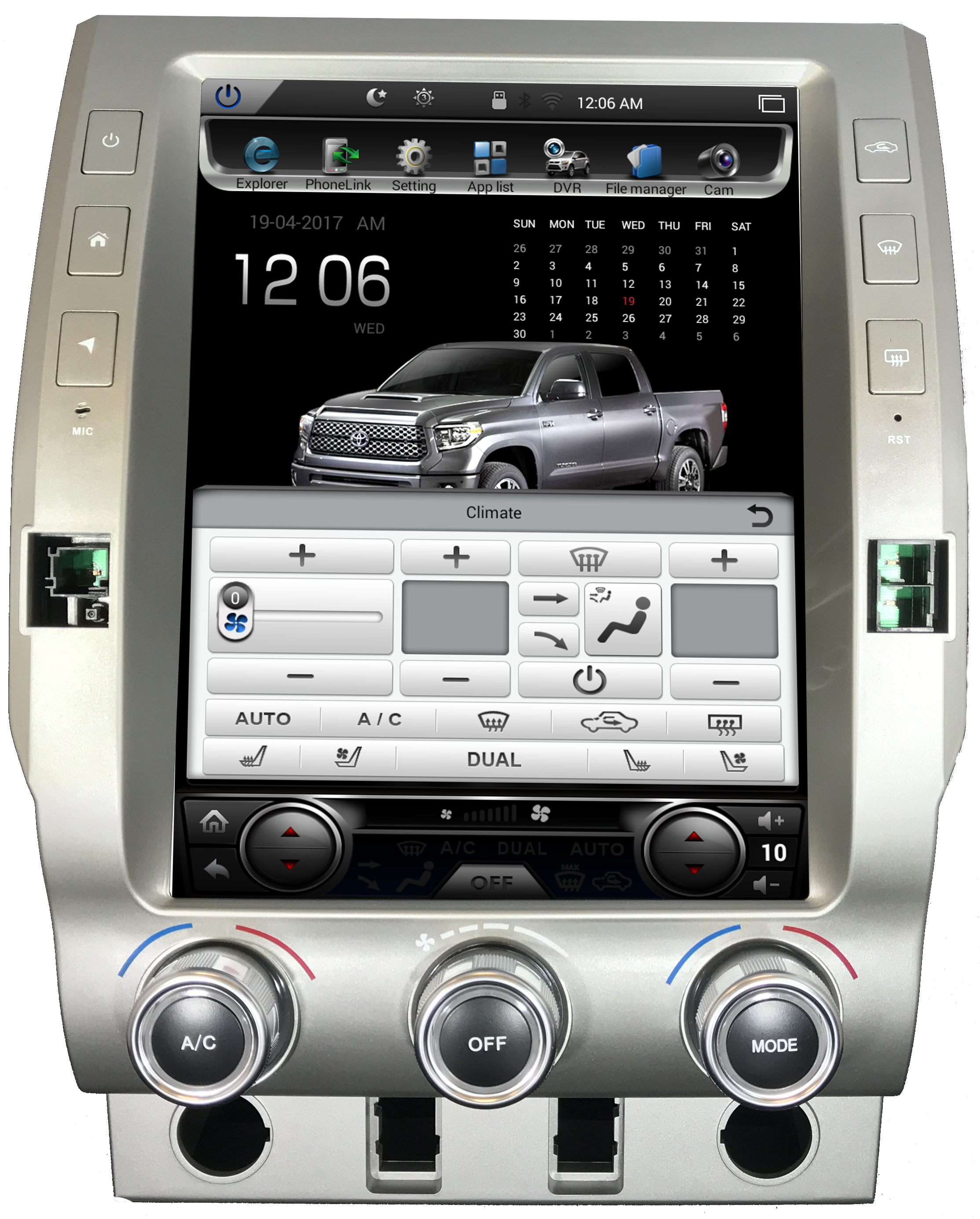 toyota tundra android navigation system