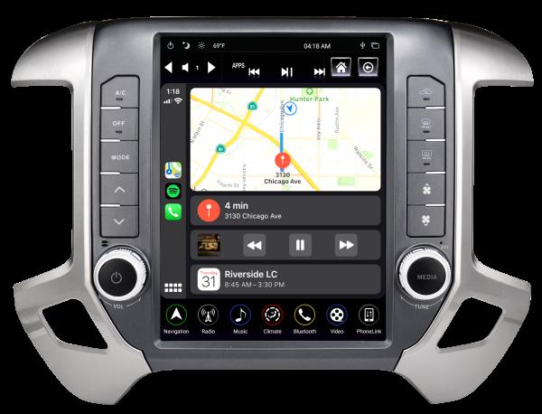 2014-2018 Chevy Silverado/GMC Sierra Generation IV T-Style Radio  TS-GMPU12-1RR-4A