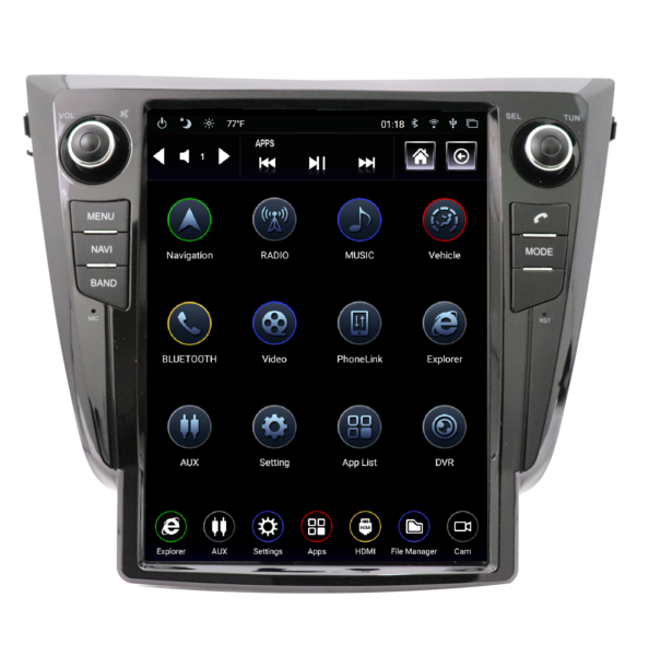 2013-2019 NISSAN ROGUE GENERATION IV T-STYLE RADIO TS-NSRG12-1RR-4A